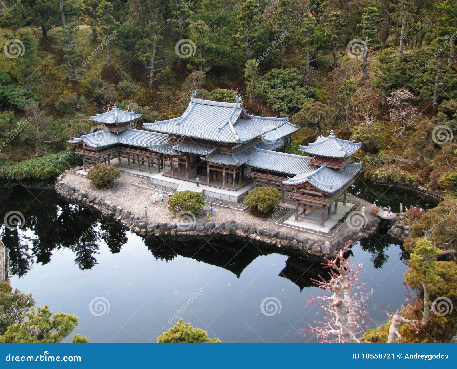 Casa japonesa imagen de archivo imagen de footpath - Casa tradicional japonesa ...