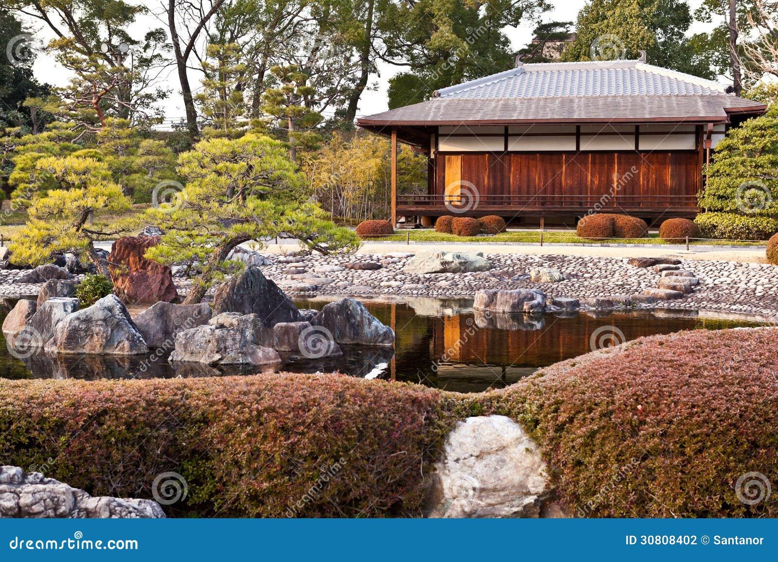 Casa japonesa tradicional fotograf a de archivo imagen - Casa tradicional japonesa ...