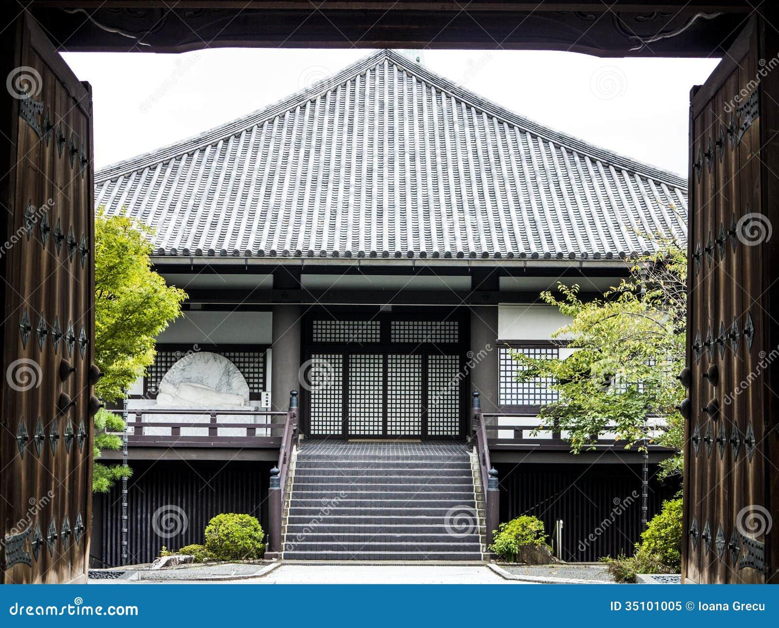 Casa japonesa tradicional foto de stock royalty free - Casa tradicional japonesa ...