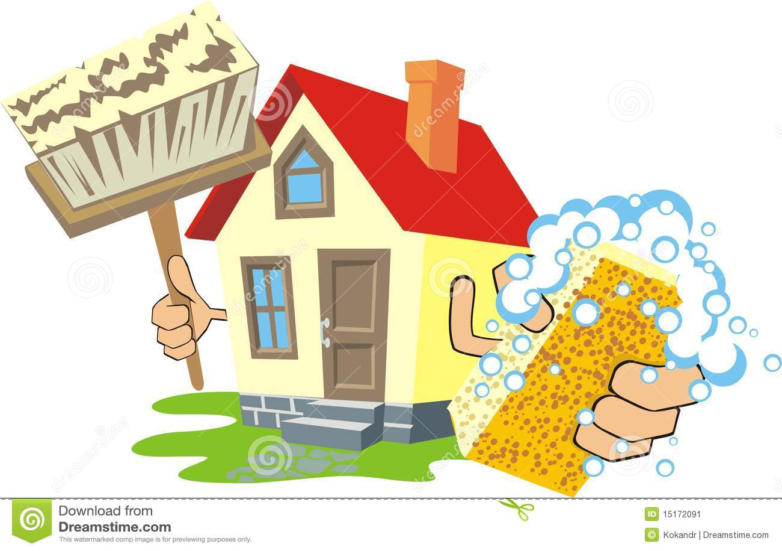 Casa limpia imagen de archivo imagen 15172091 - Imagenes de limpieza de casas ...