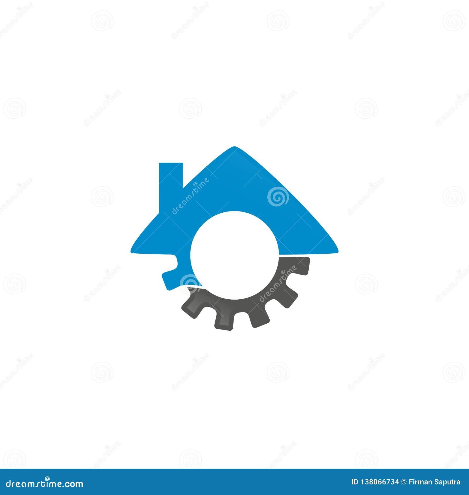 Casa Logo Inspiration de la máquina