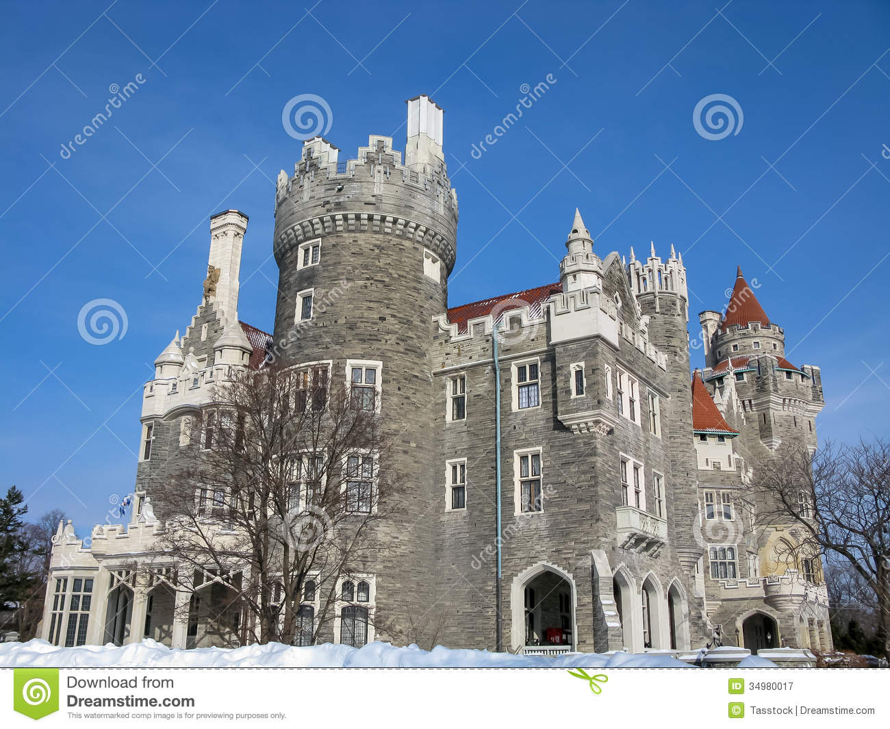 Casa loma in toronto canada editorial photography image for Casa loma mansion toronto