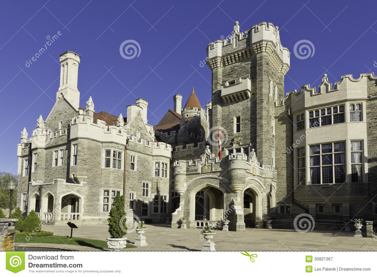 Casa loma in toronto royalty free stock photography for Casa loma mansion toronto