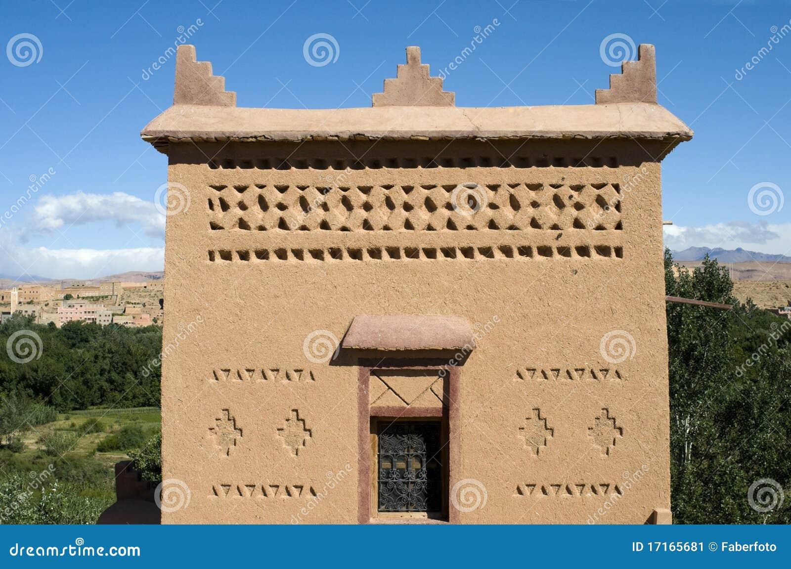 Casa marocchina tipica immagine stock immagine di eredit for Piani di casa marocchina