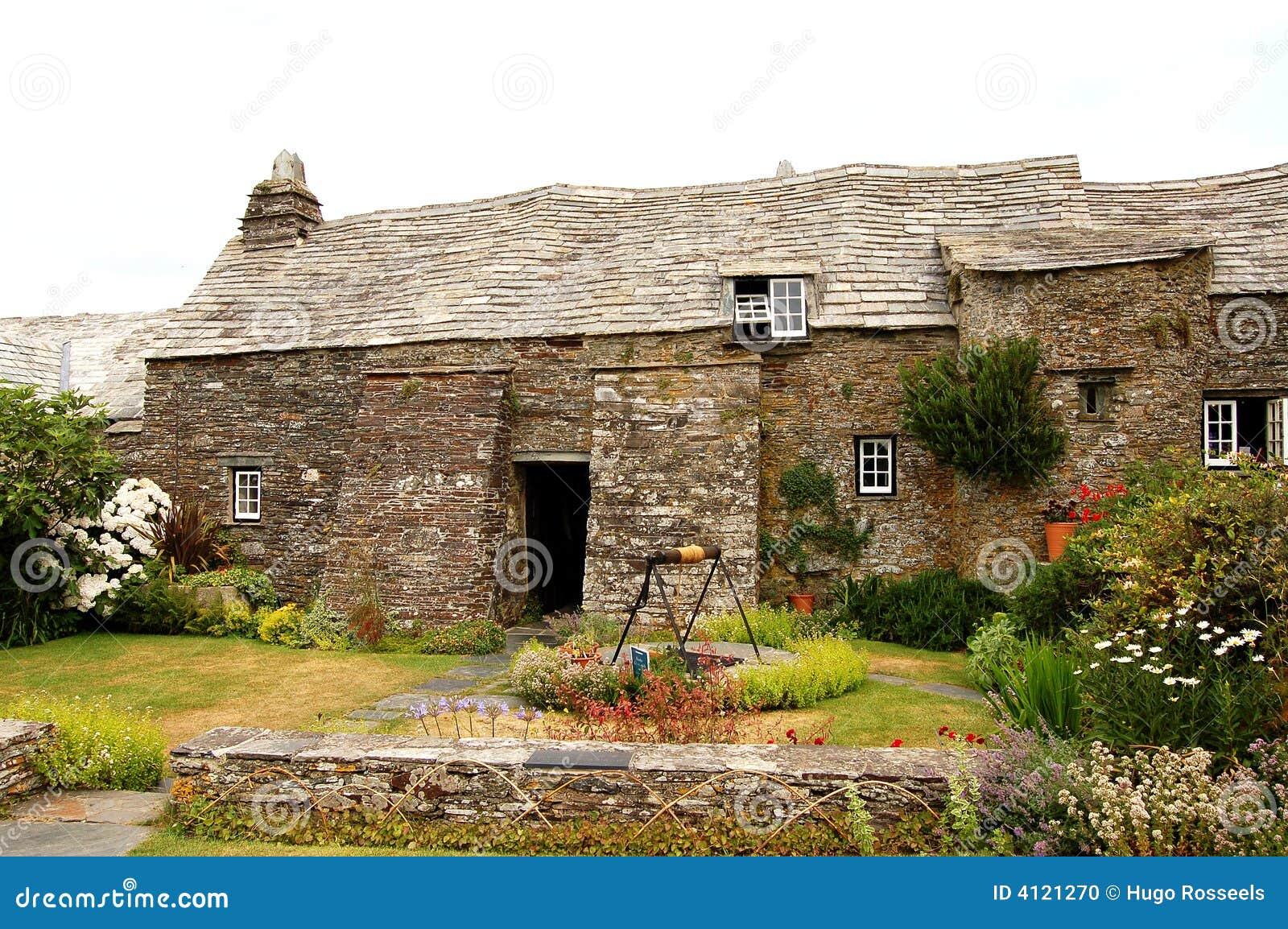 Casa medieval de inglaterra en foto de archivo imagen - Inglaterra en casa ...
