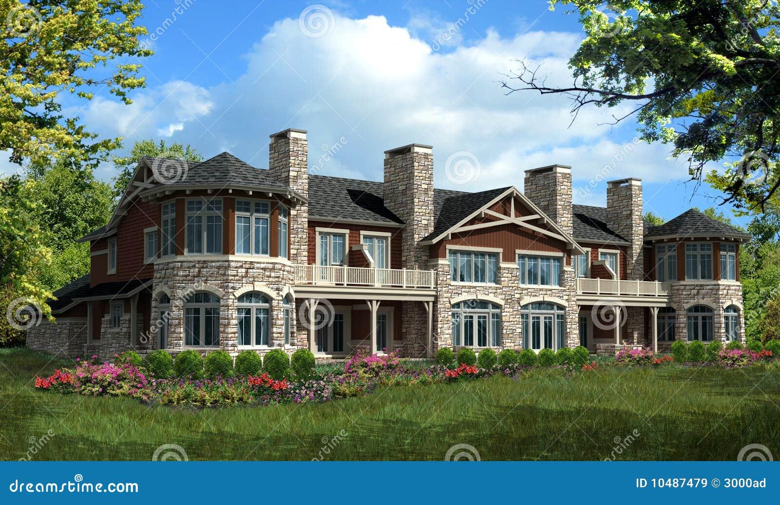 Casa modelo do condomínio
