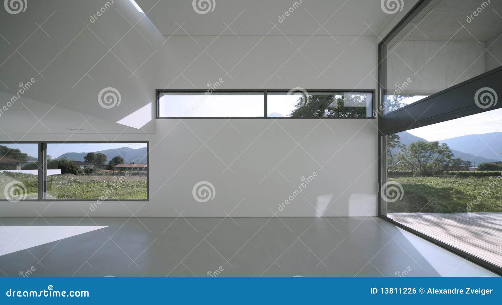 Casa moderna fotografia stock immagine di stanza grande for Casa moderna vector