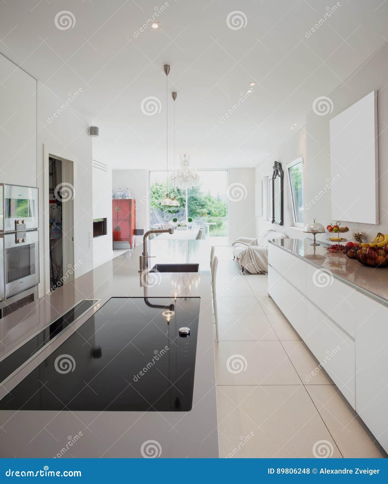 Casa moderna, cocina moderna