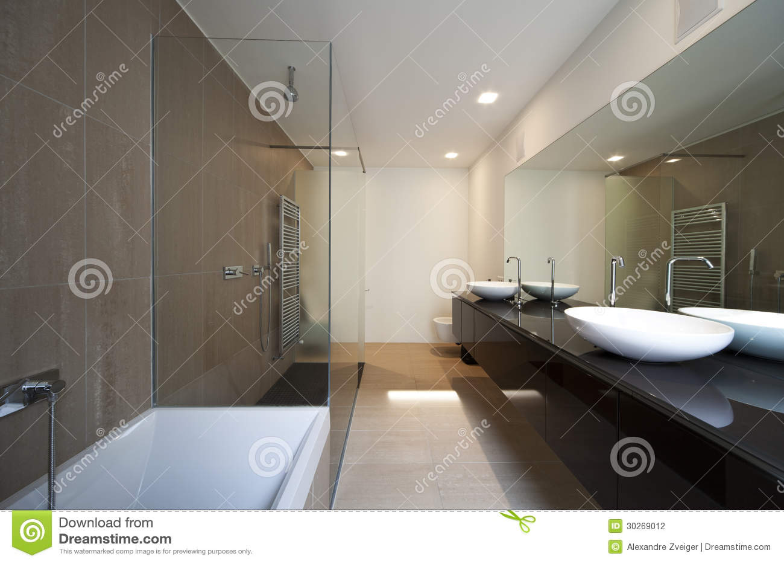 Casa moderna interior banheiro bonito. #50617B 1300x950 Banheiro Bonito
