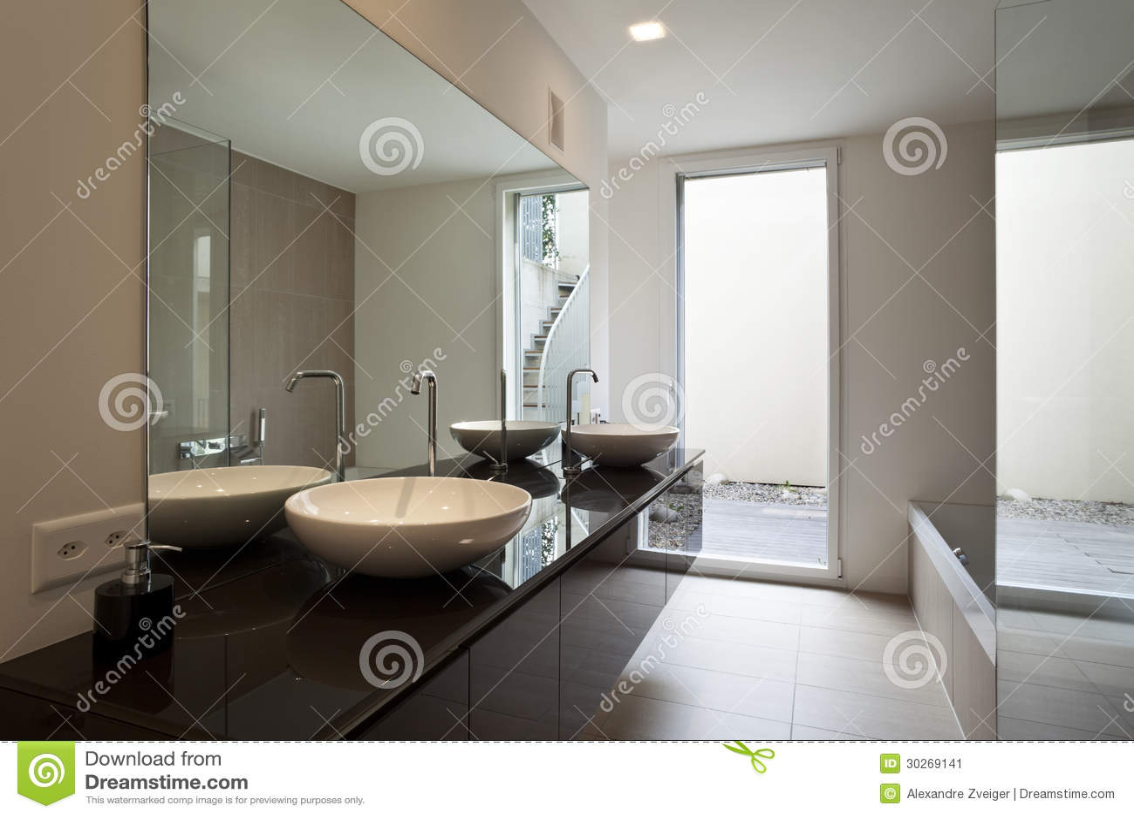 interior moderno de la casa imagen de archivo imagen