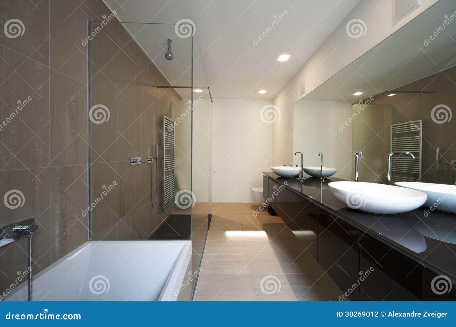 Interno moderno della casa fotografia stock immagine di for Interno moderno