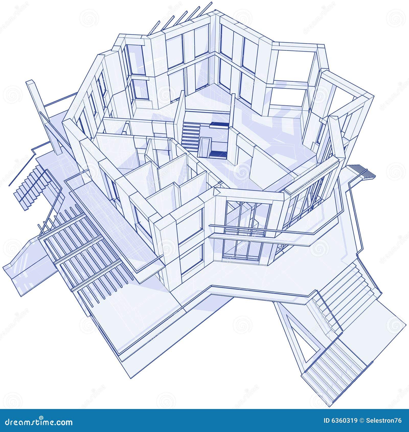 Casa moderna - modelo