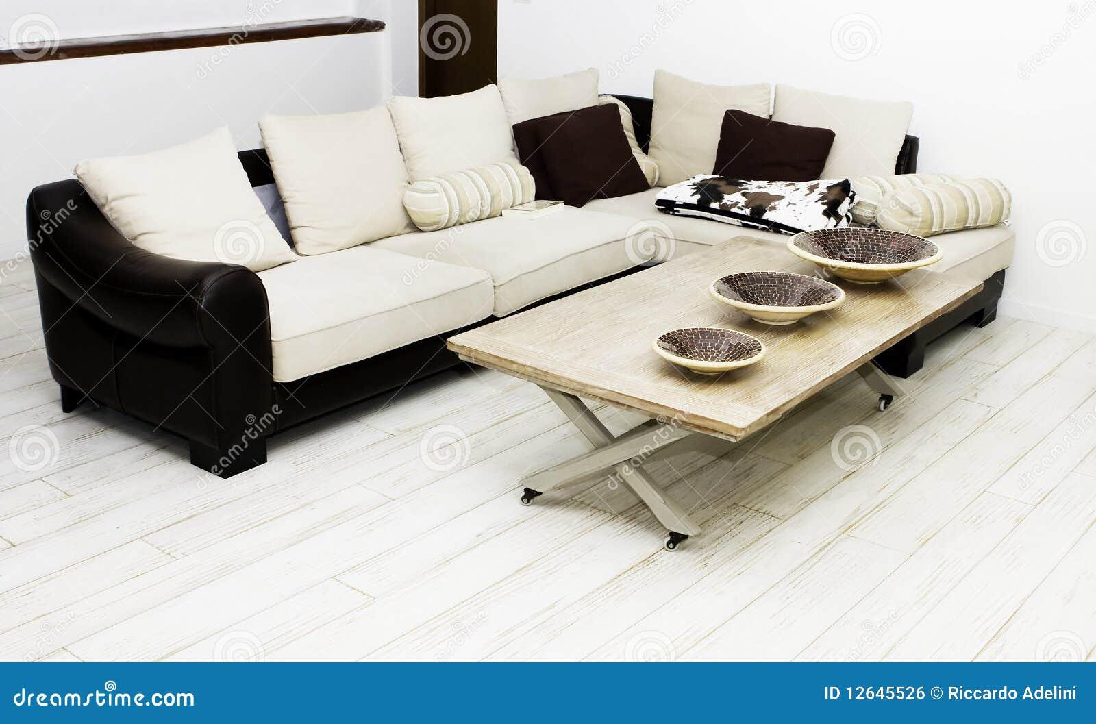 Casa moderna sala de estar con los muebles modernos for Casa moderna vector