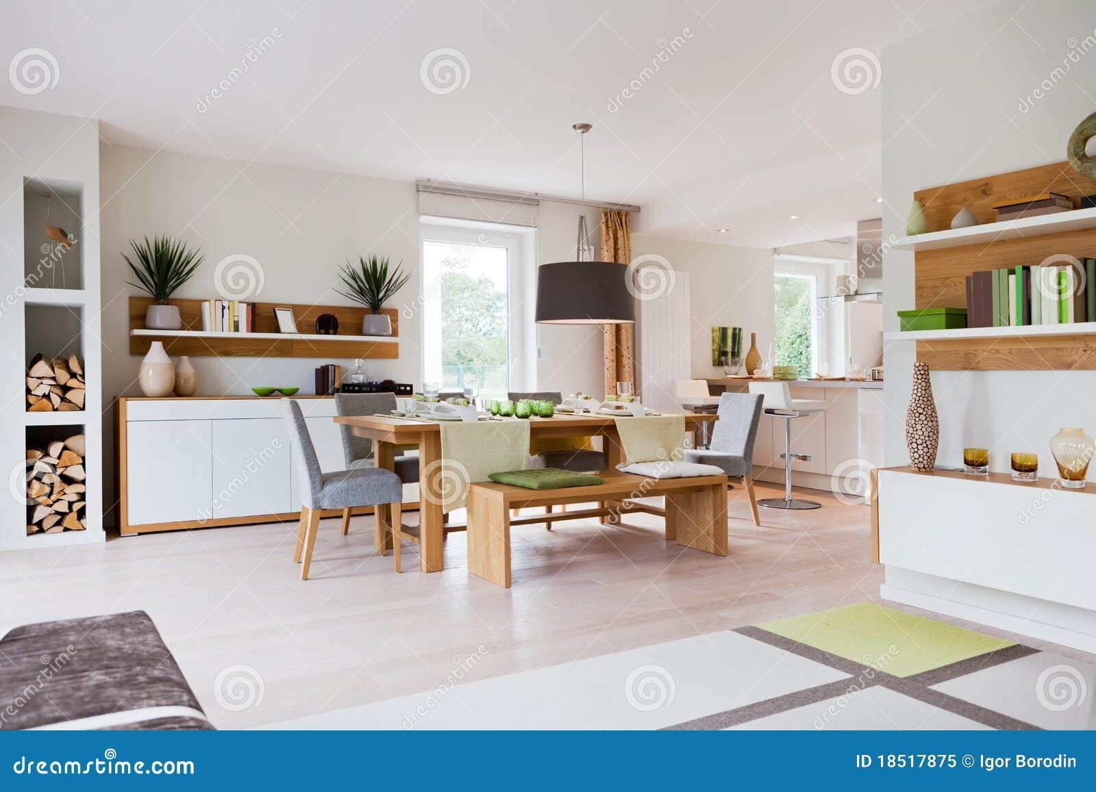Casa moderna, sala de visitas