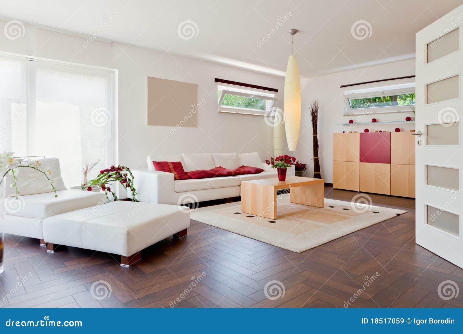 casa moderna salone immagine stock immagine di arte