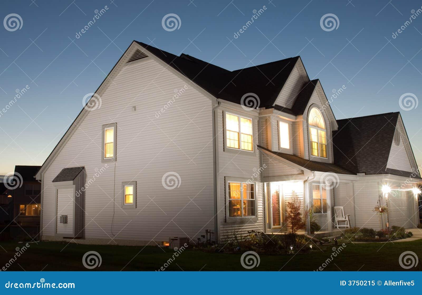 Casa na noite