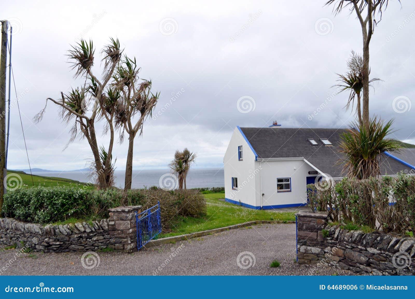 Casa no Dingle, Kerry do condado, Irlanda