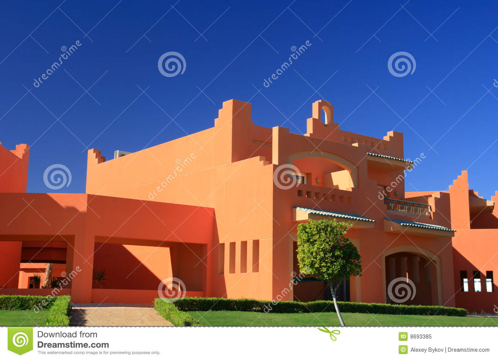 Casa no estilo rabe foto de stock royalty free imagem - Casas estilo arabe ...
