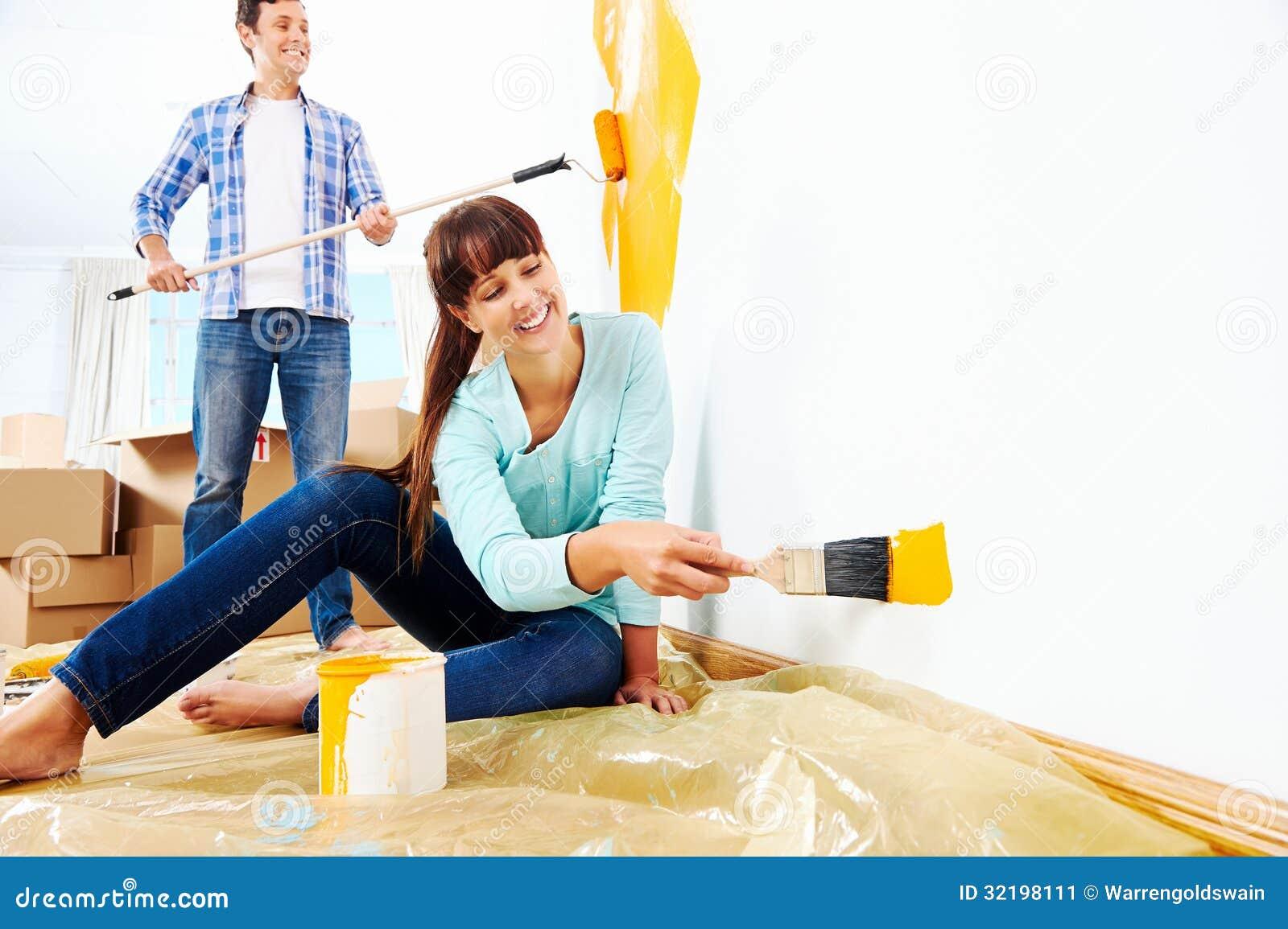 Casa nova de pintura