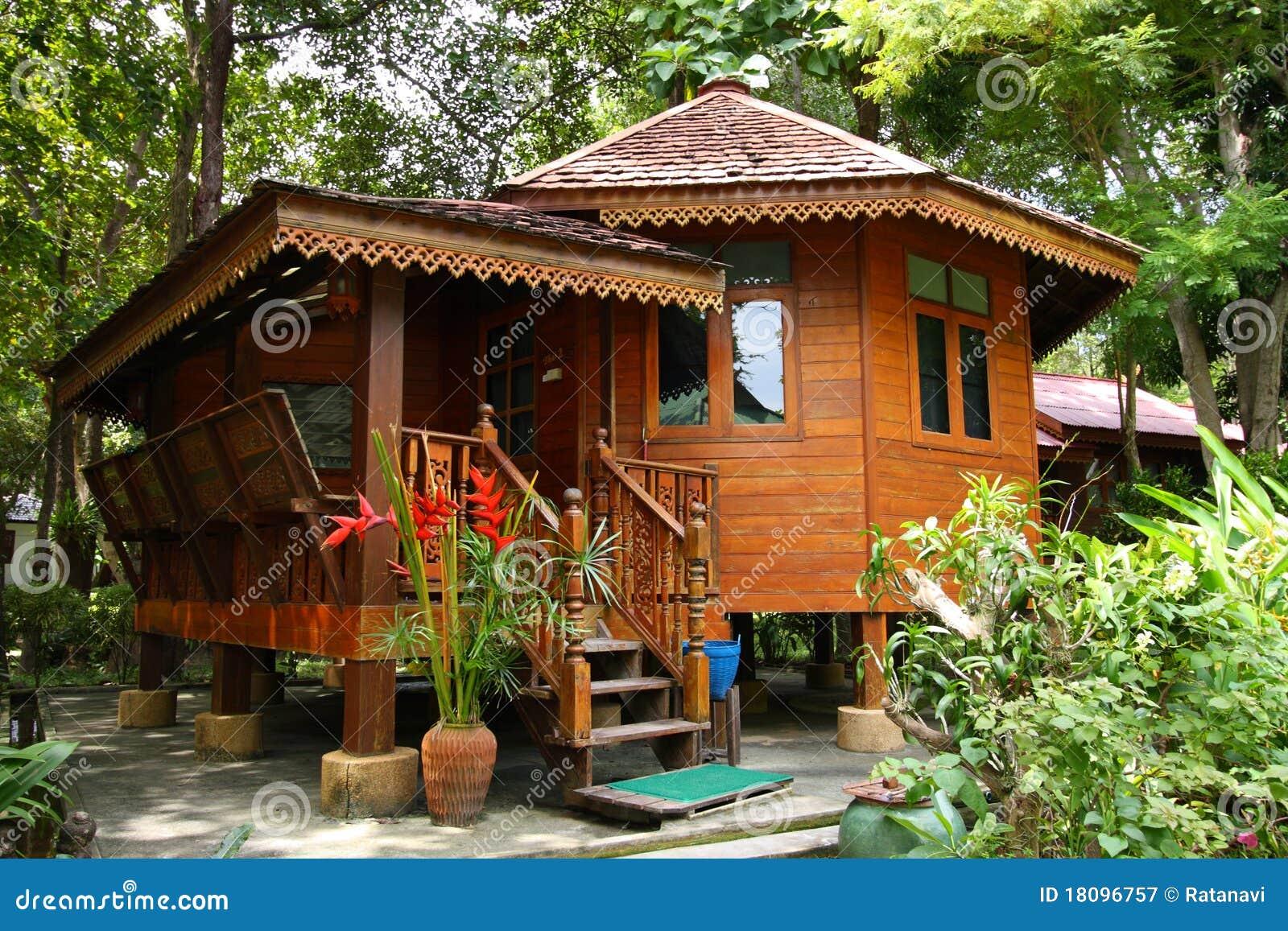 Casa oriental do estilo fotografia de stock royalty free - Estilo de casas ...