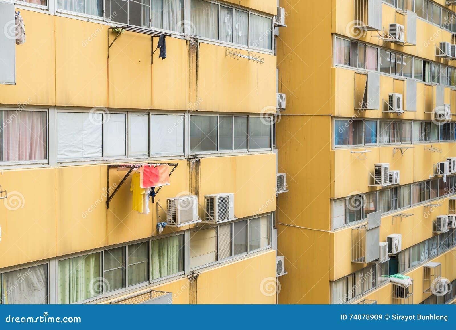 Casa ou construção urbana, teste padrão da fachada