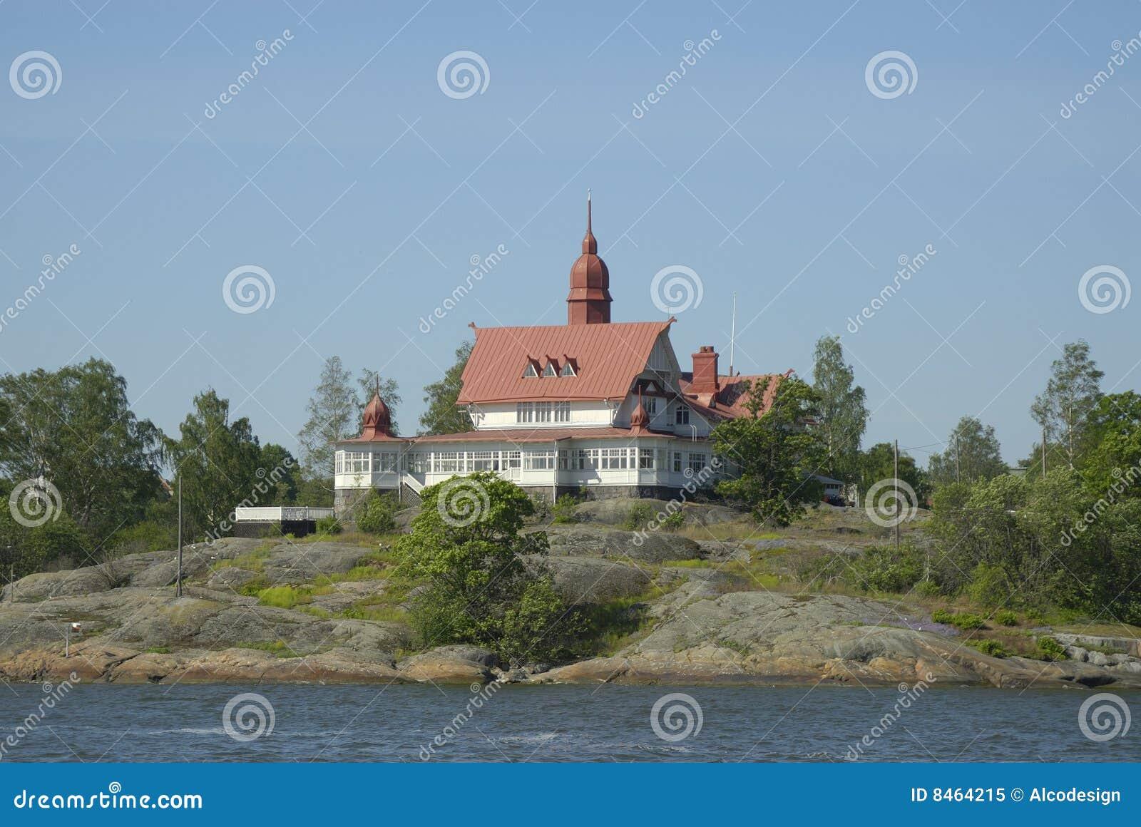 Casa por la orilla