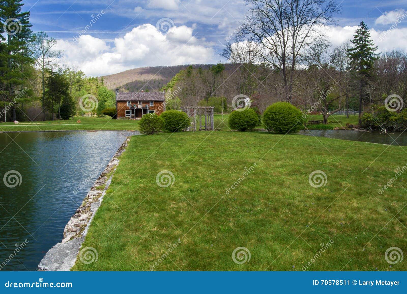 """Casa principal do alojamento do †de Glen Alton Farm """""""