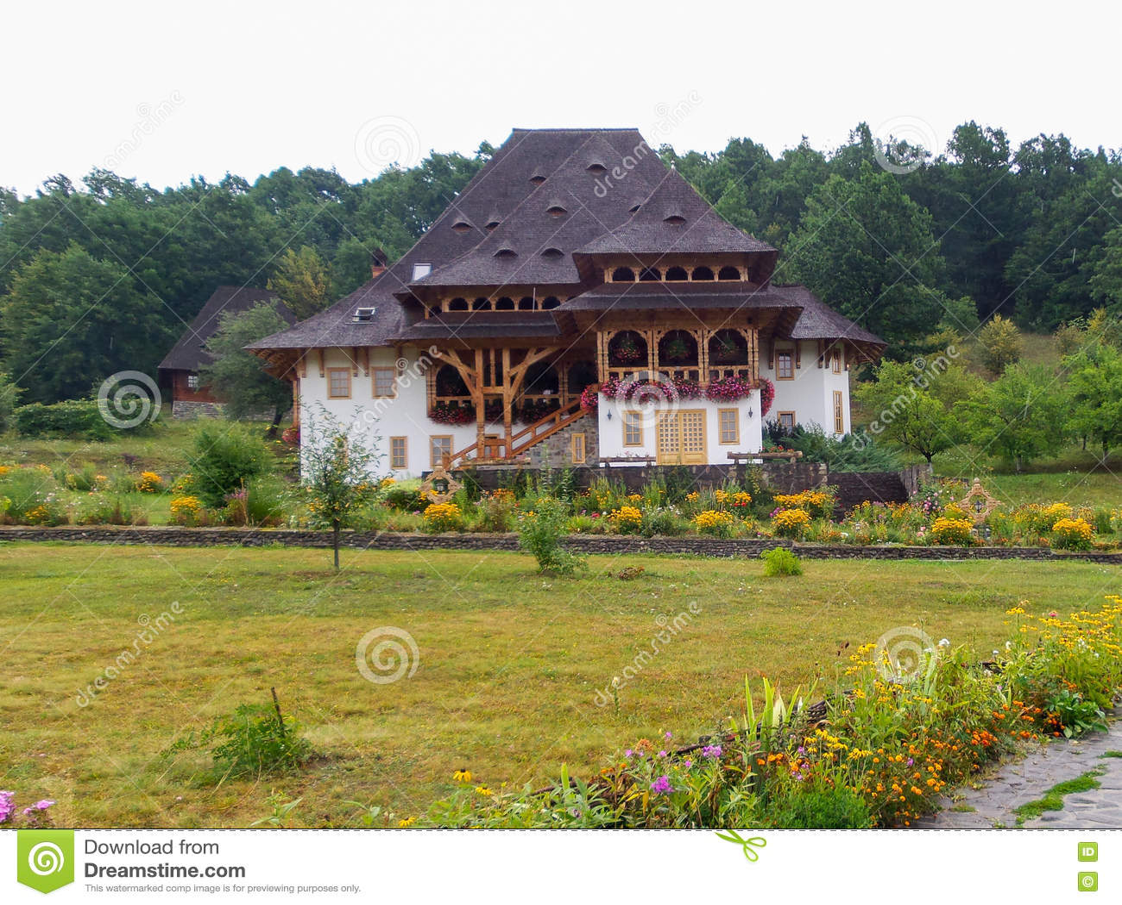 Casa rústica cerca de la iglesia de Botiza