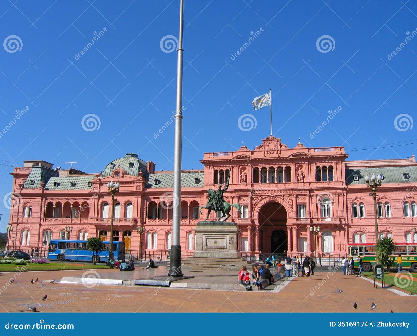 Casa rosada in buenos aires argentina editorial stock for Casa argentina