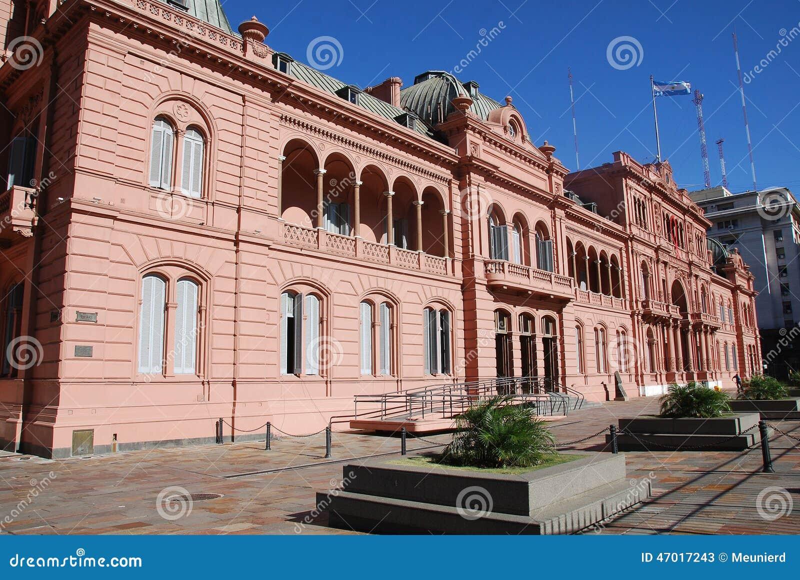 Casa Rosada stock image. Image of belgrano, american ...