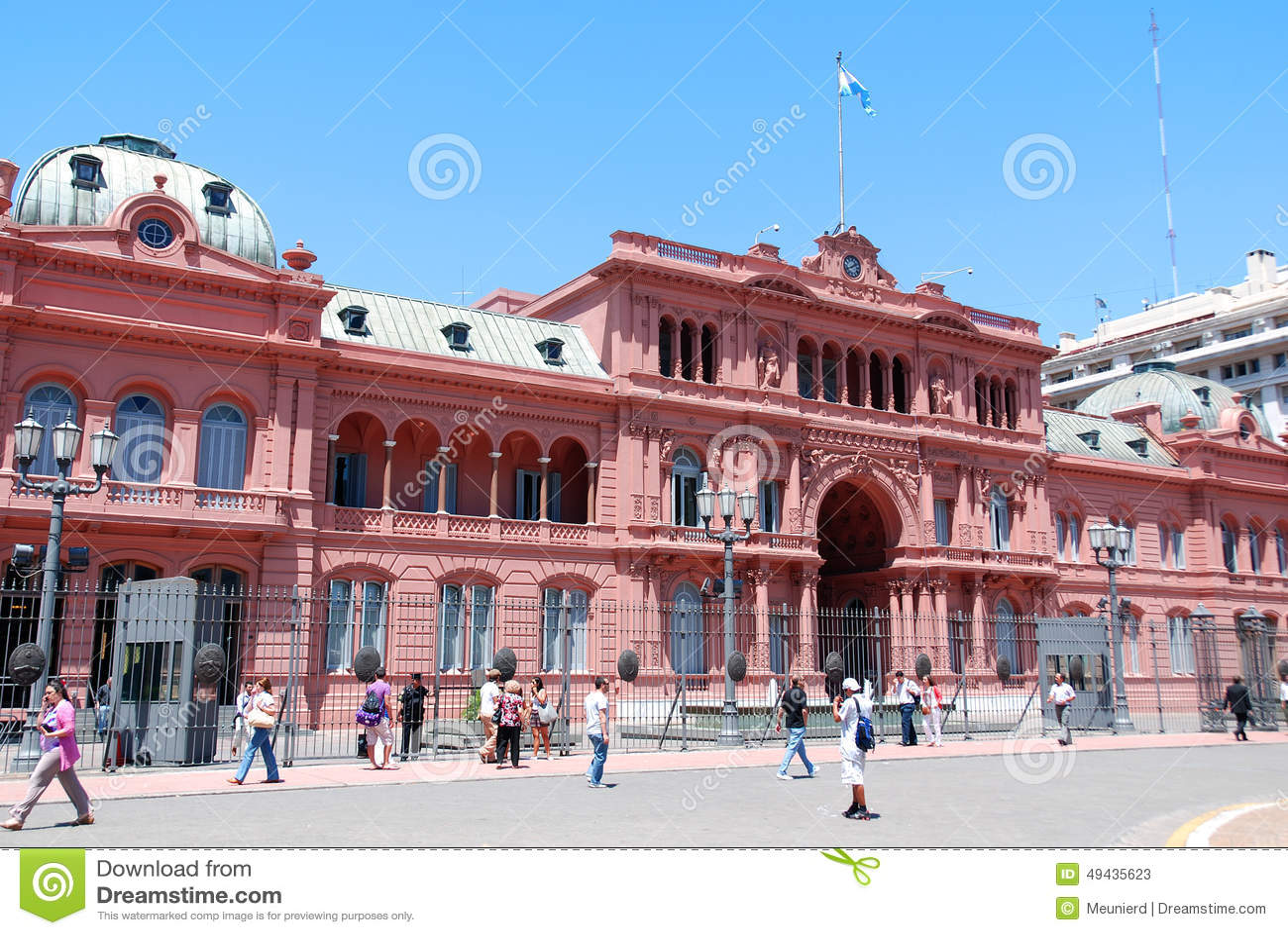 Casa rosada pink house editorial stock photo image for Casa argentina