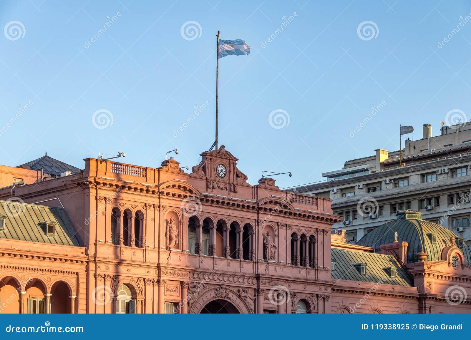 Casa Rosada Presidential Palace - Buenos Aires, Argentina