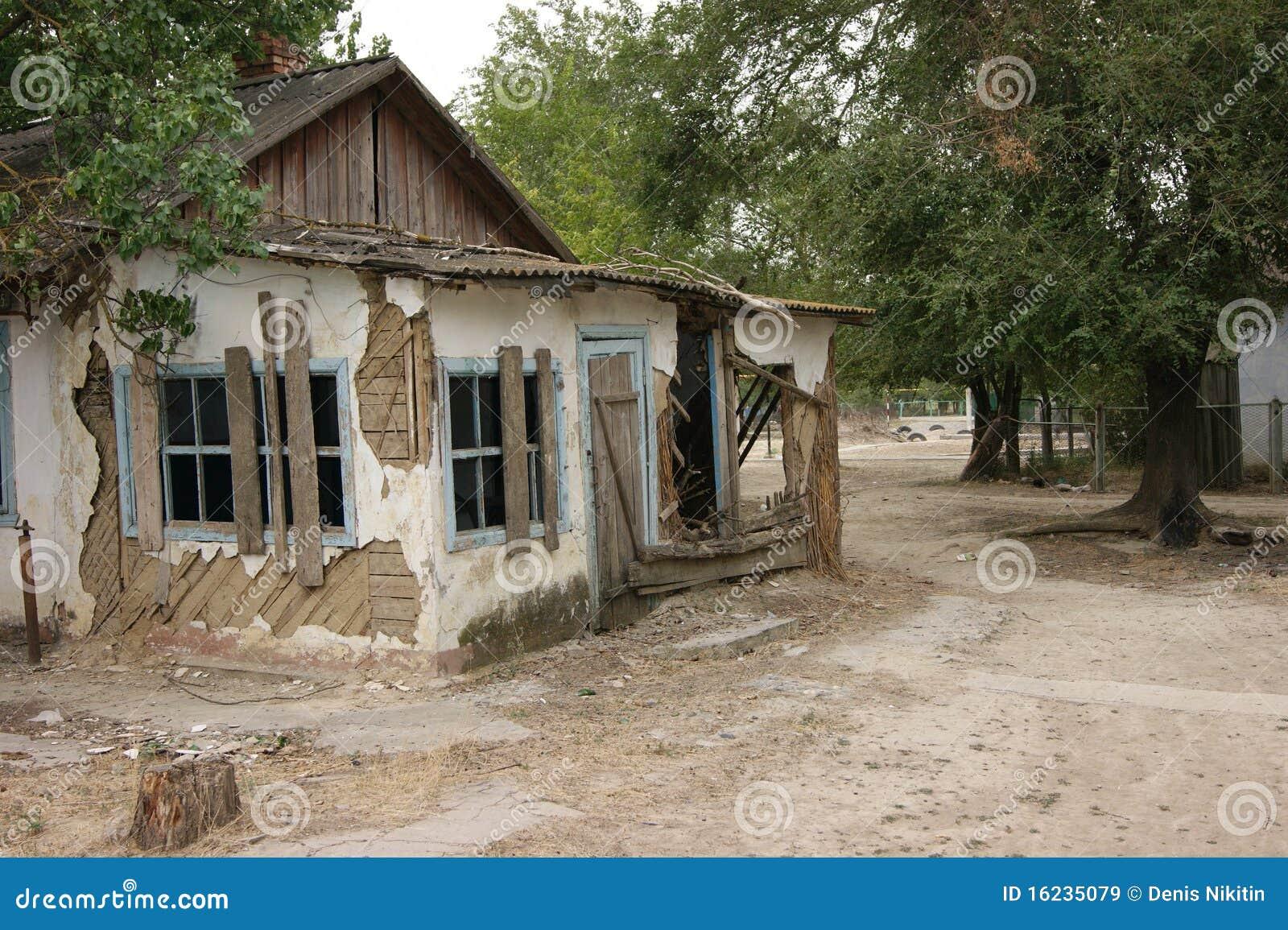 Casa rotta immagini stock libere da diritti immagine for Concetto casa com