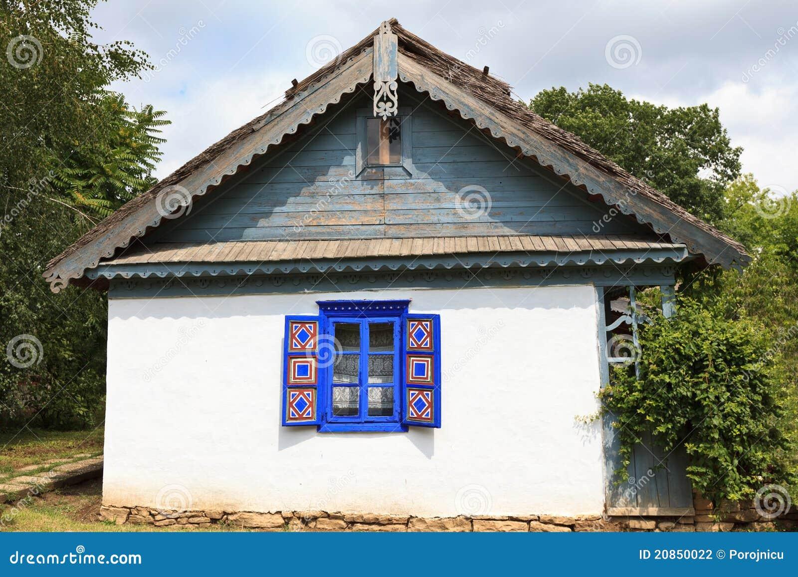 Casa rustica fotografia stock immagine di decorazione for Piani di casa vacanza rustica
