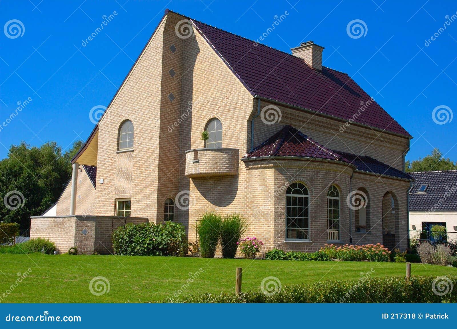Casa suburbana.