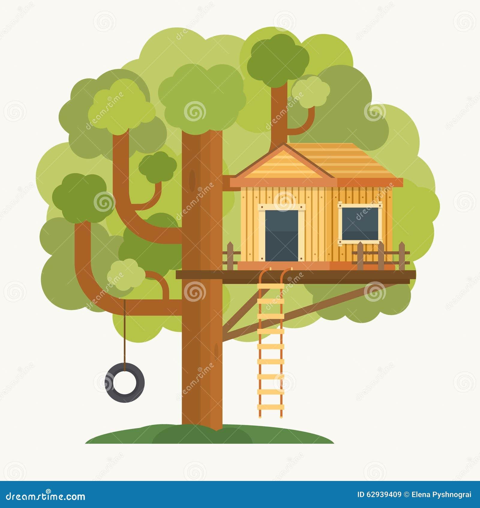 Casa sull 39 albero camera sull 39 albero per i bambini - Progetto casa sull albero per bambini ...
