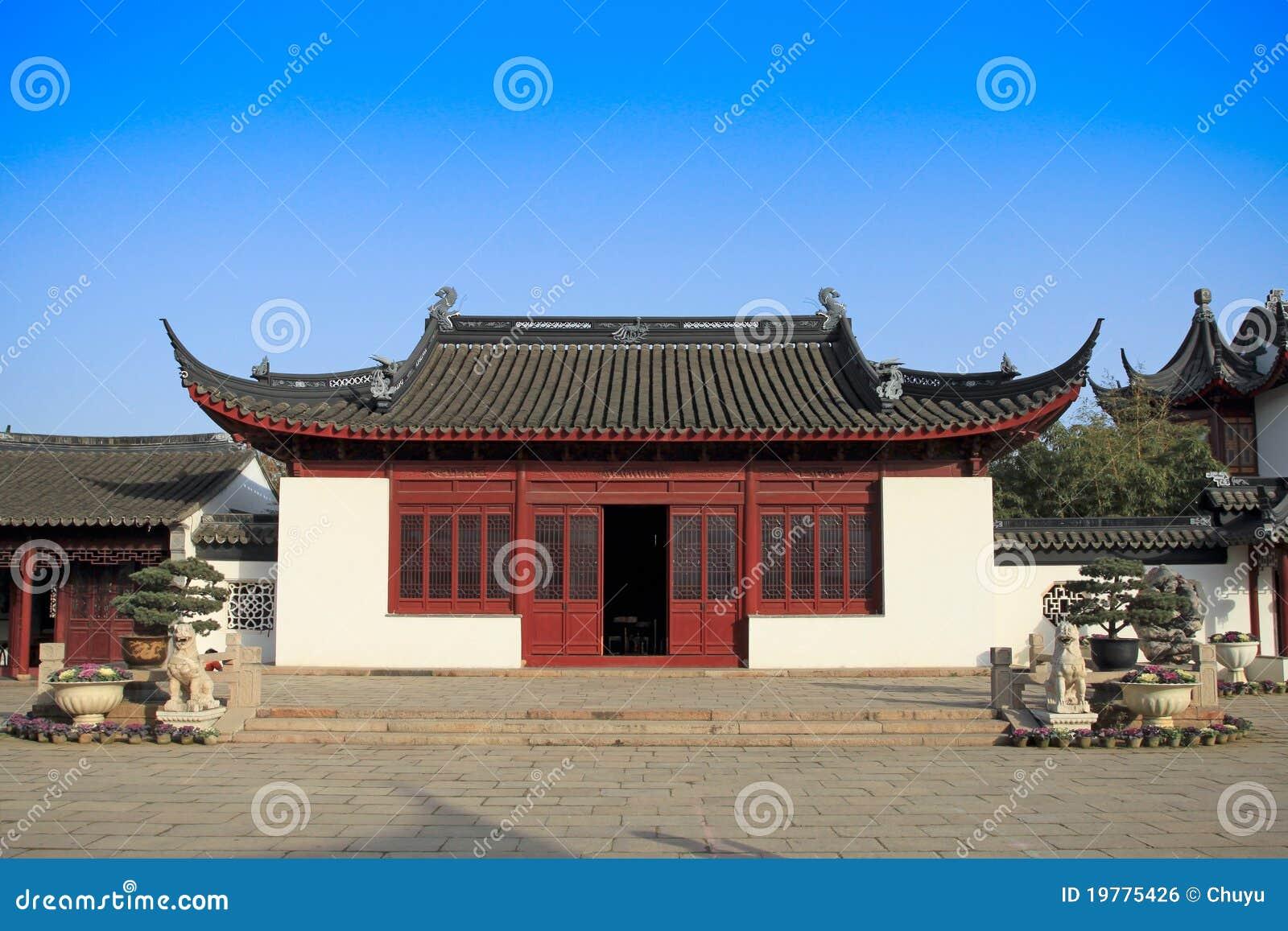 Casa Tradicional China Foto De Archivo Imagen De Cl Sico