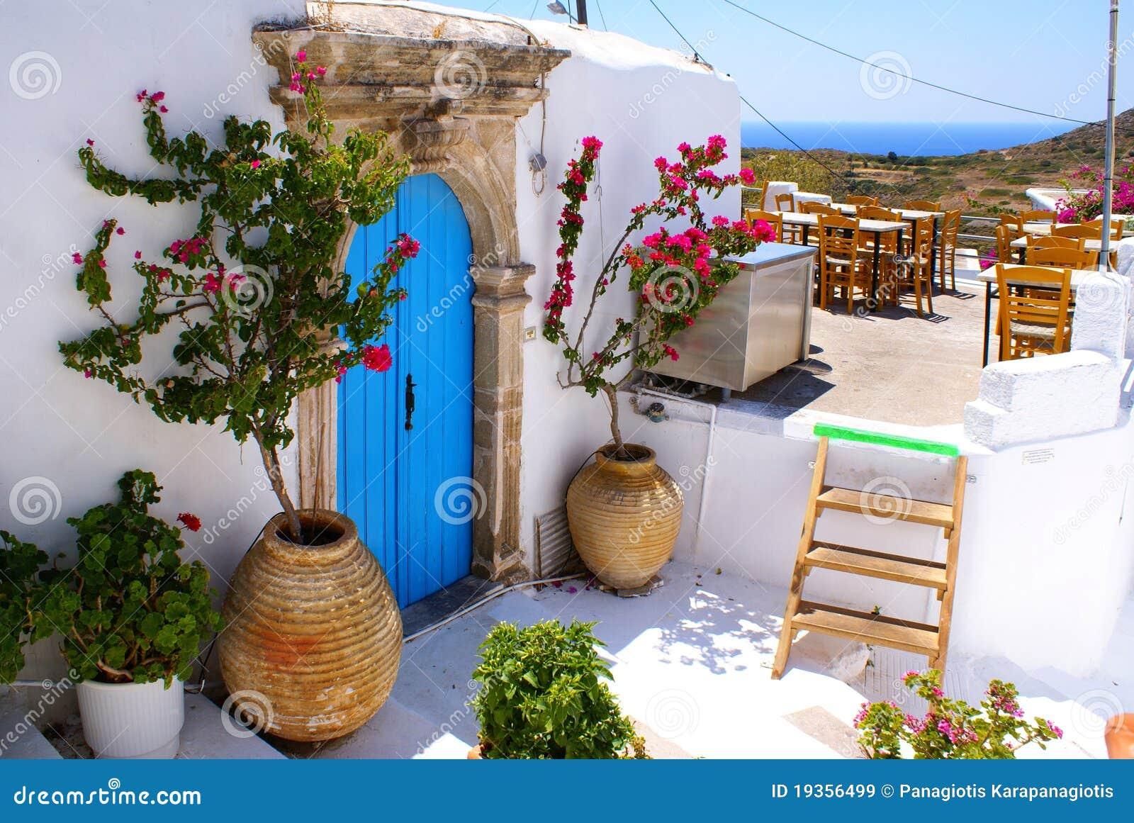 Casa tradicional grega em Kithira