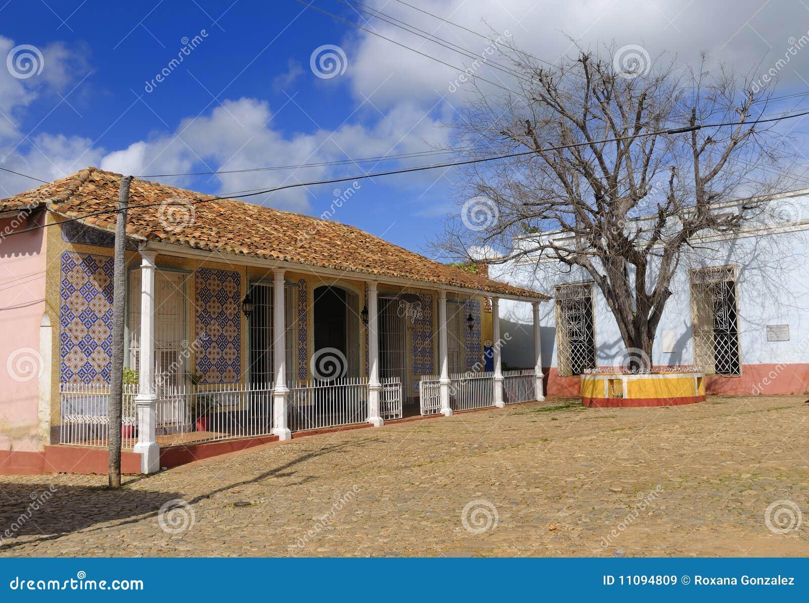Casa tropical do vintage