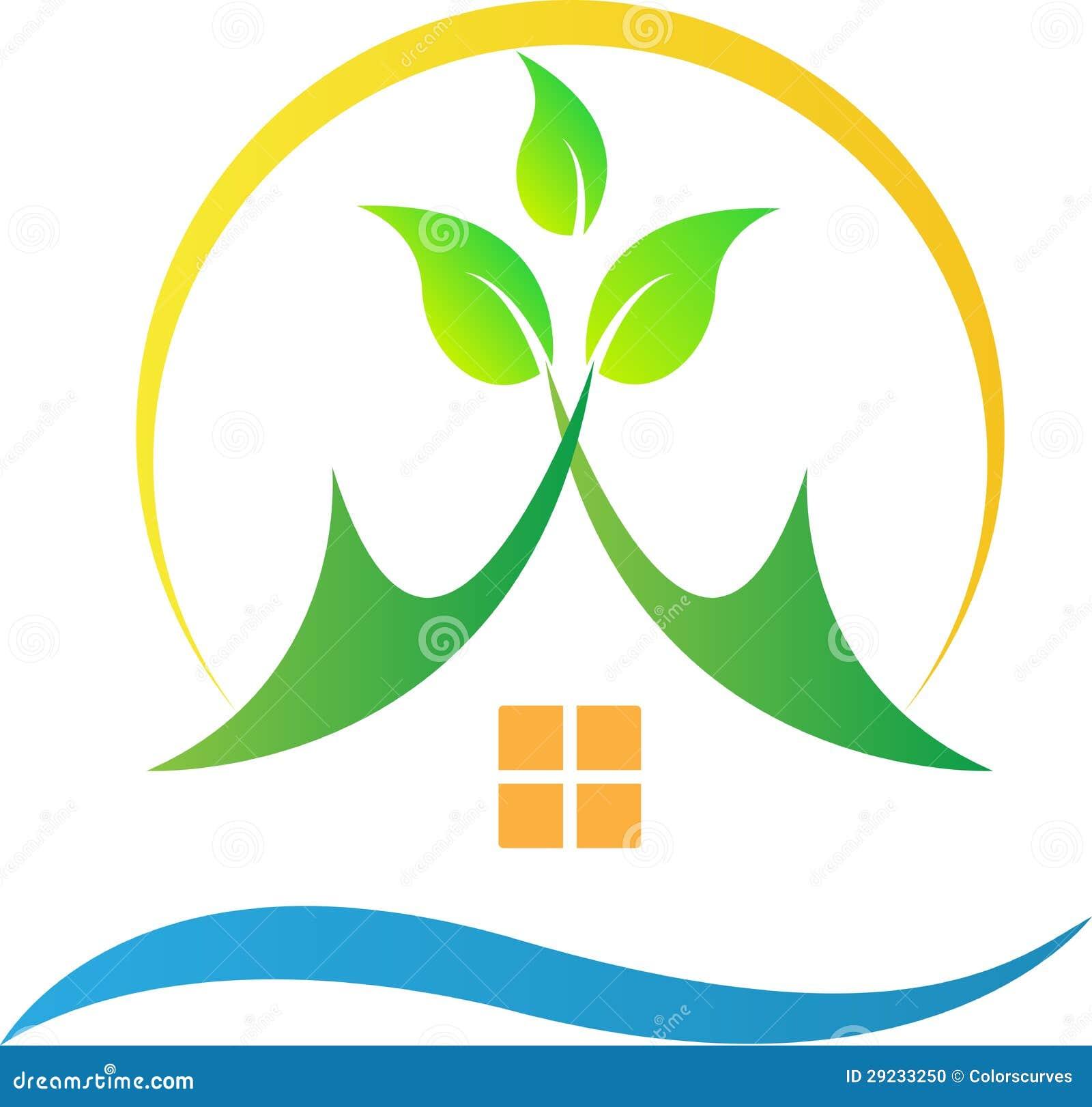 Download Casa verde da natureza ilustração do vetor. Ilustração de fundo - 29233250