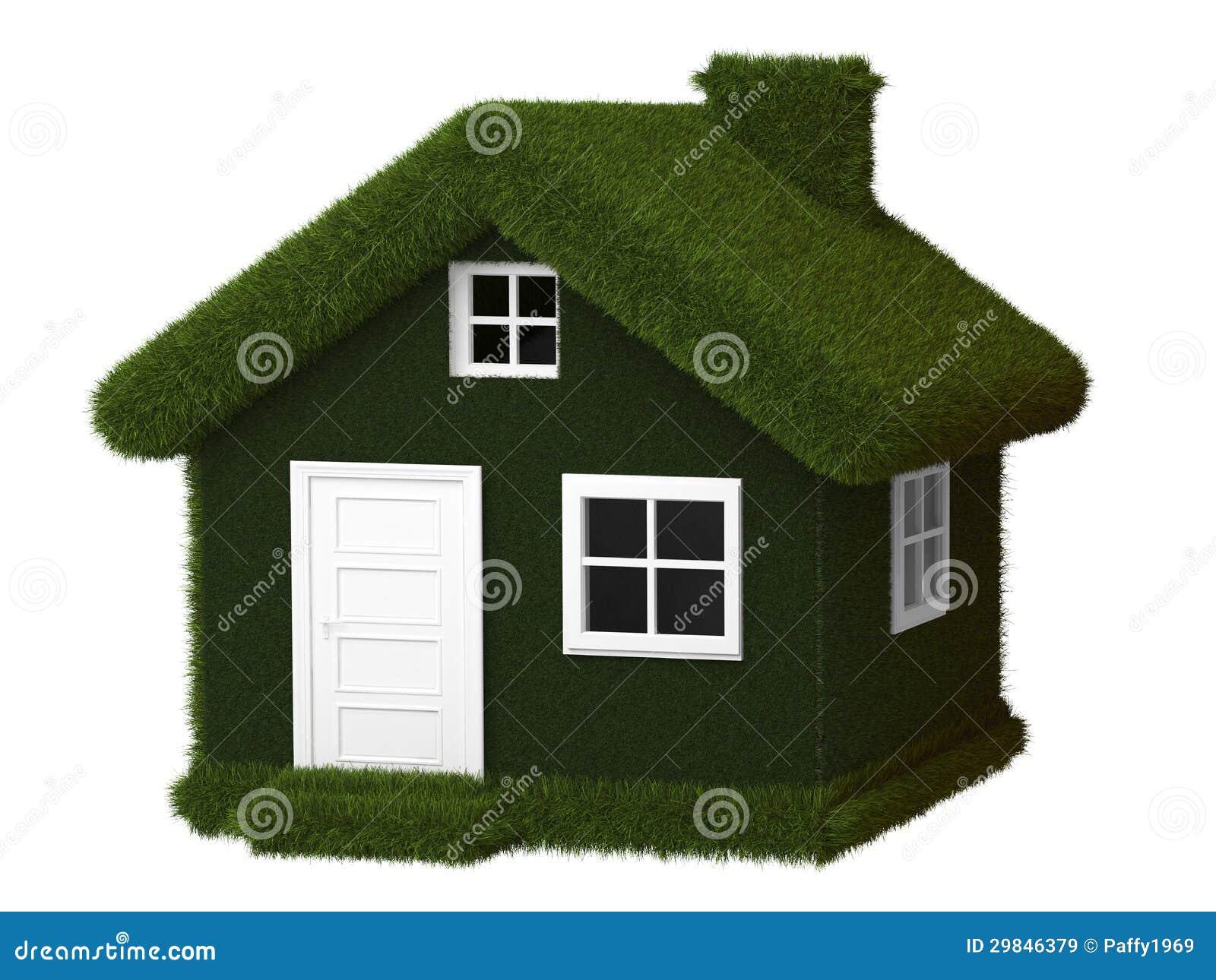 Casa verde de eco imagens de stock royalty free imagem for Design eco casa verde