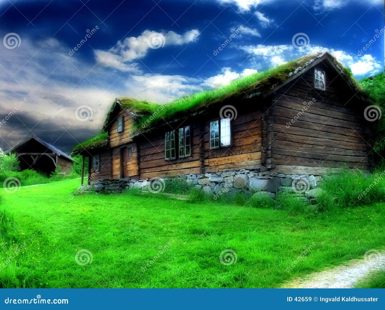 Download Casa vieja imagen de archivo. Imagen de campo, colorido - 42659