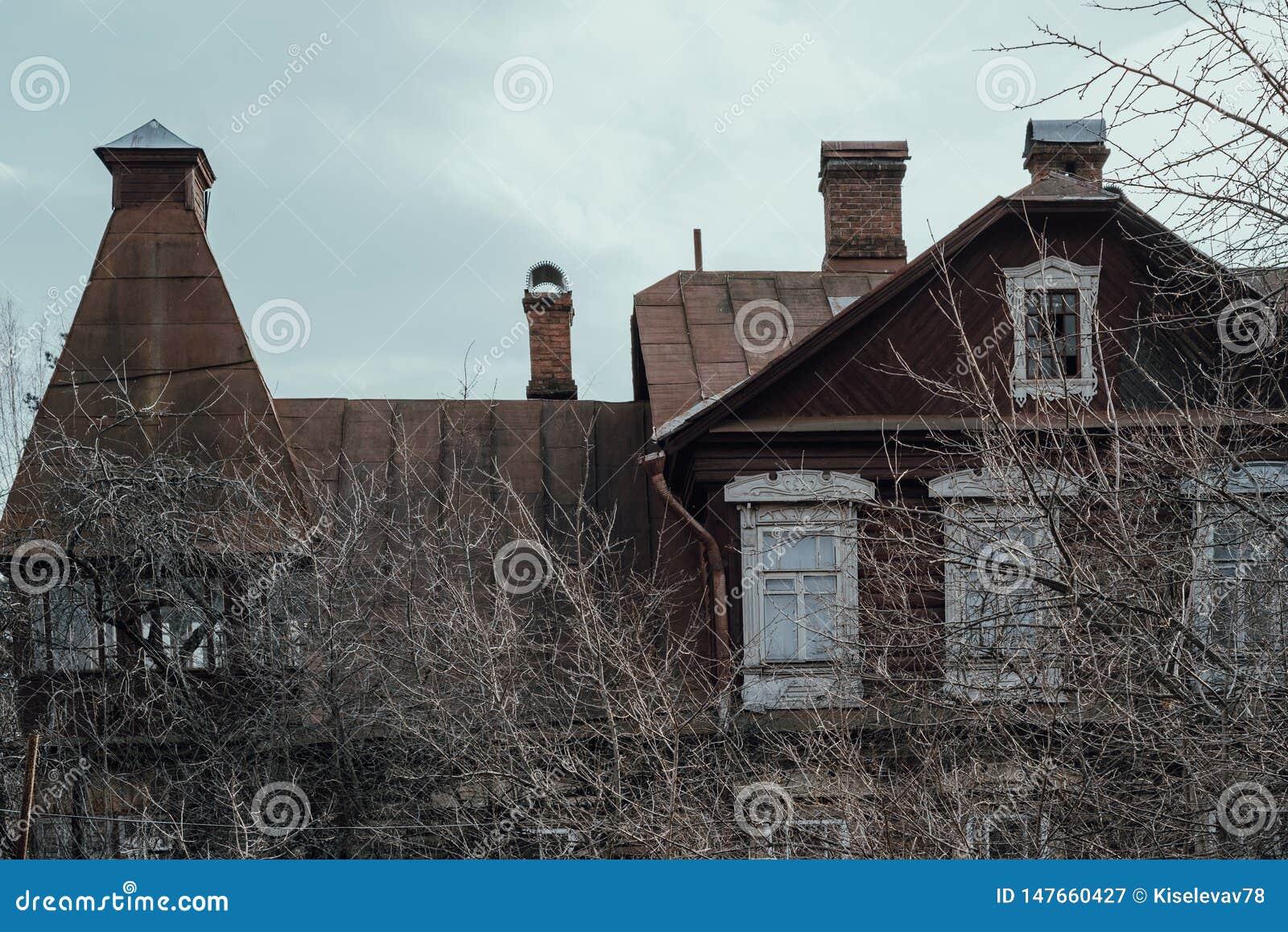 Casa vieja abandonada fragmento Primer