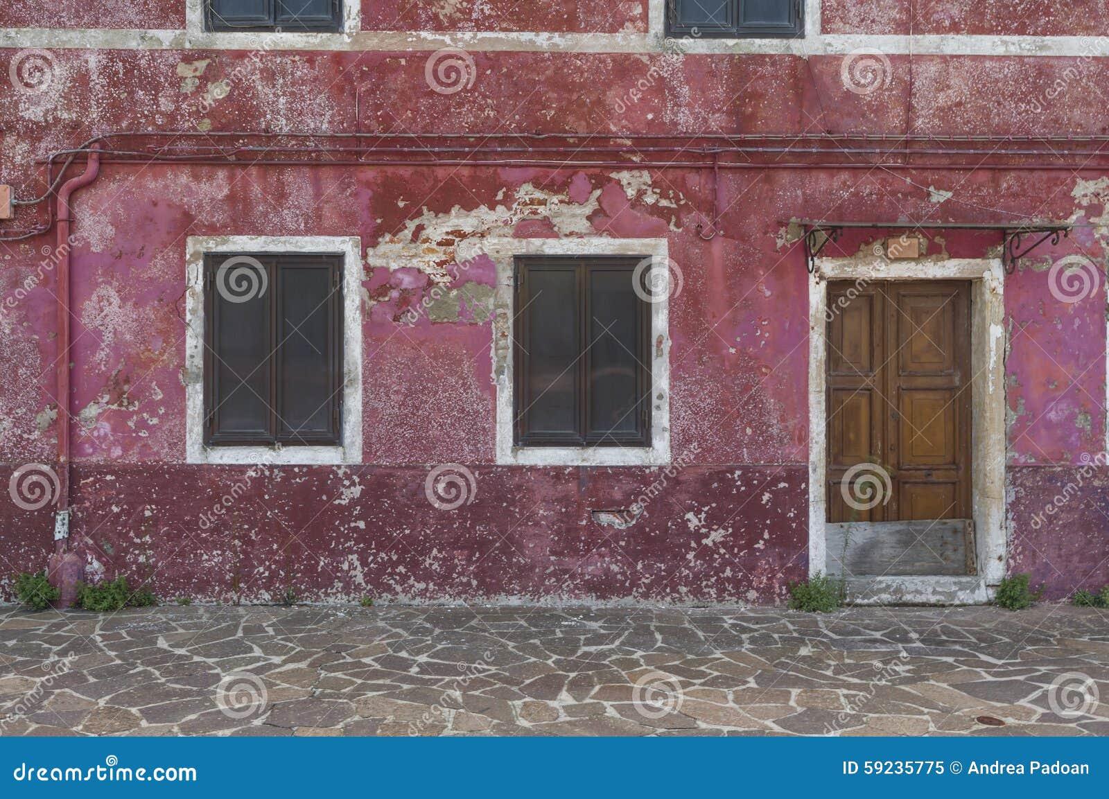 Download Casa Vieja En Mazzorbo, Venecia, Italia Imagen de archivo - Imagen de señal, asoleado: 59235775
