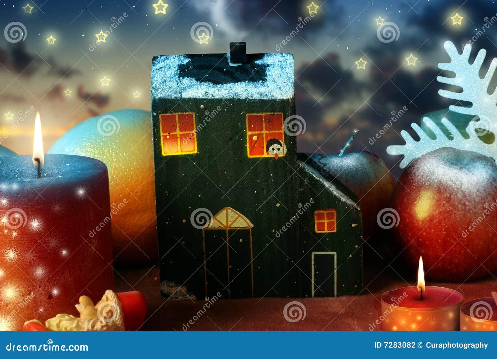 Casa y la Navidad