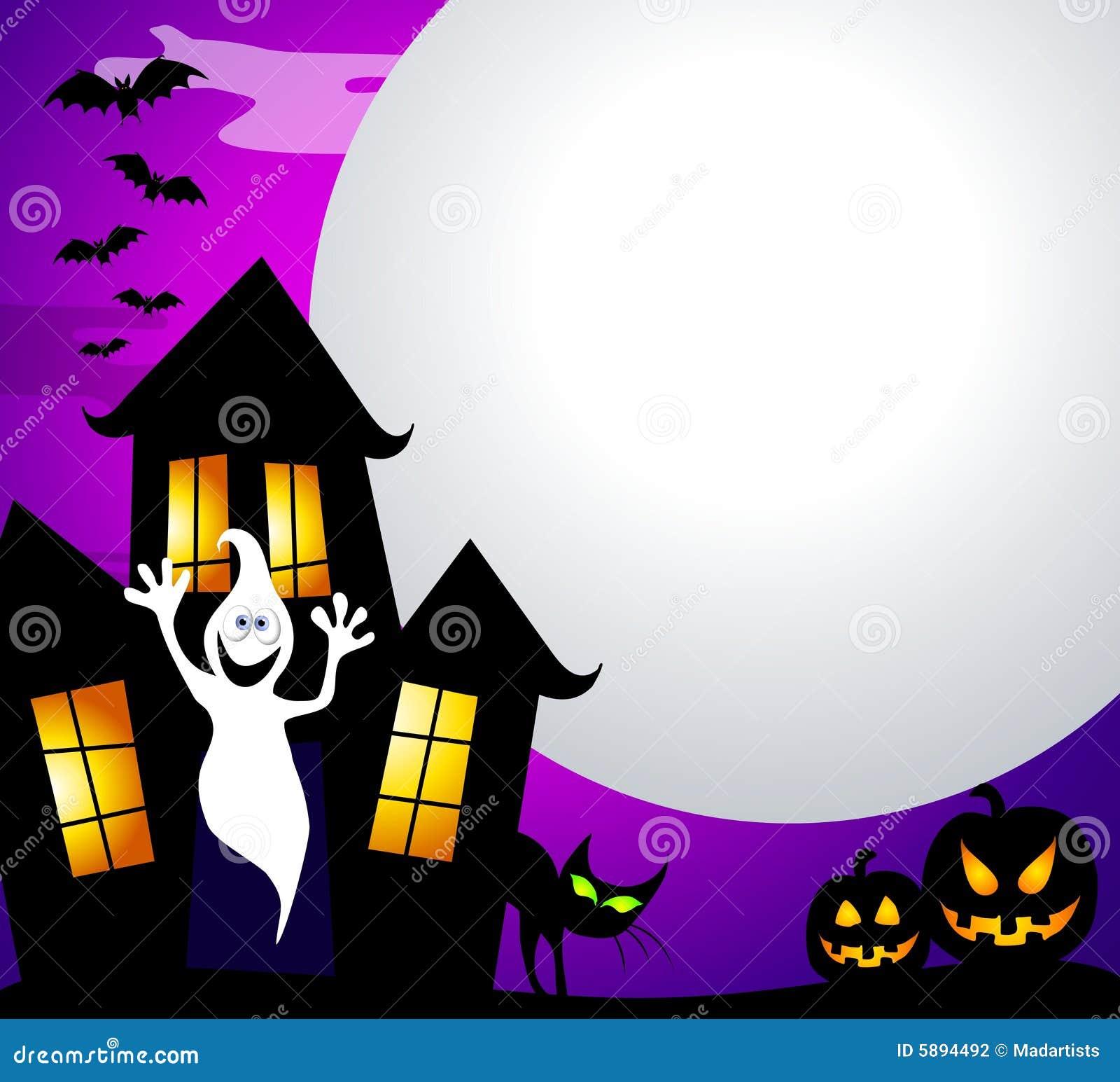 Casa y luna frecuentadas