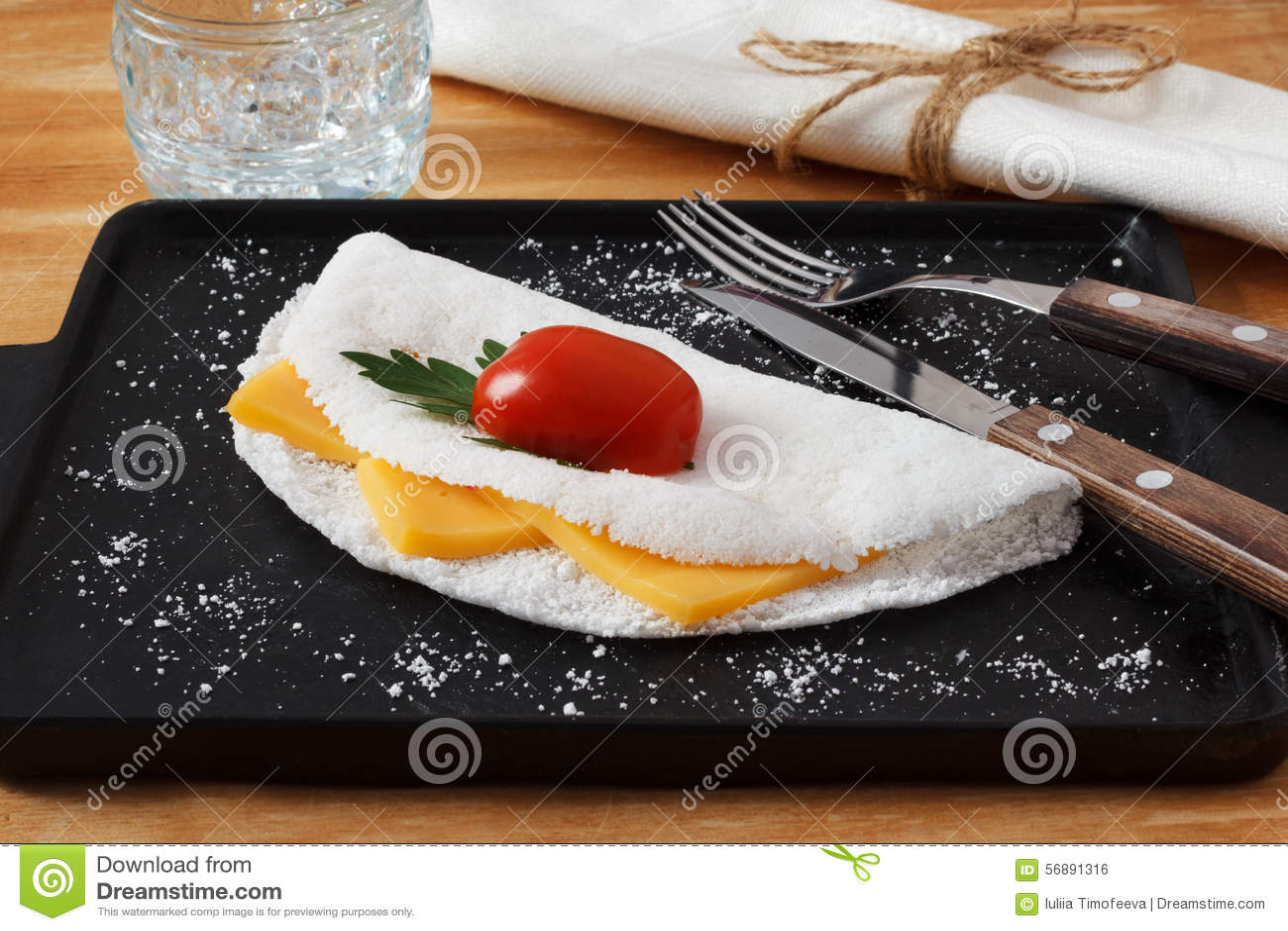 Casabe (bammy, beiju, peso, biju) - flatbread fatto dalla manioca (tapioca)