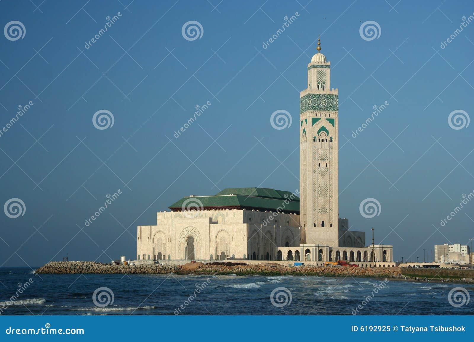 Casablanca sławny meczetu