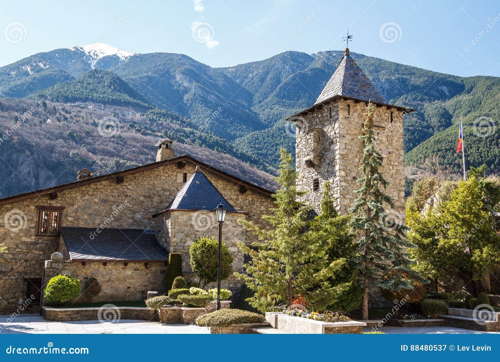 Casade-La Valle in der Hauptstadt von Andorra