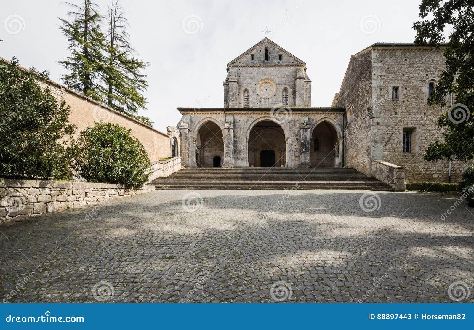 Casamari-Abtei in Ciociaria, Frosinone, Italien
